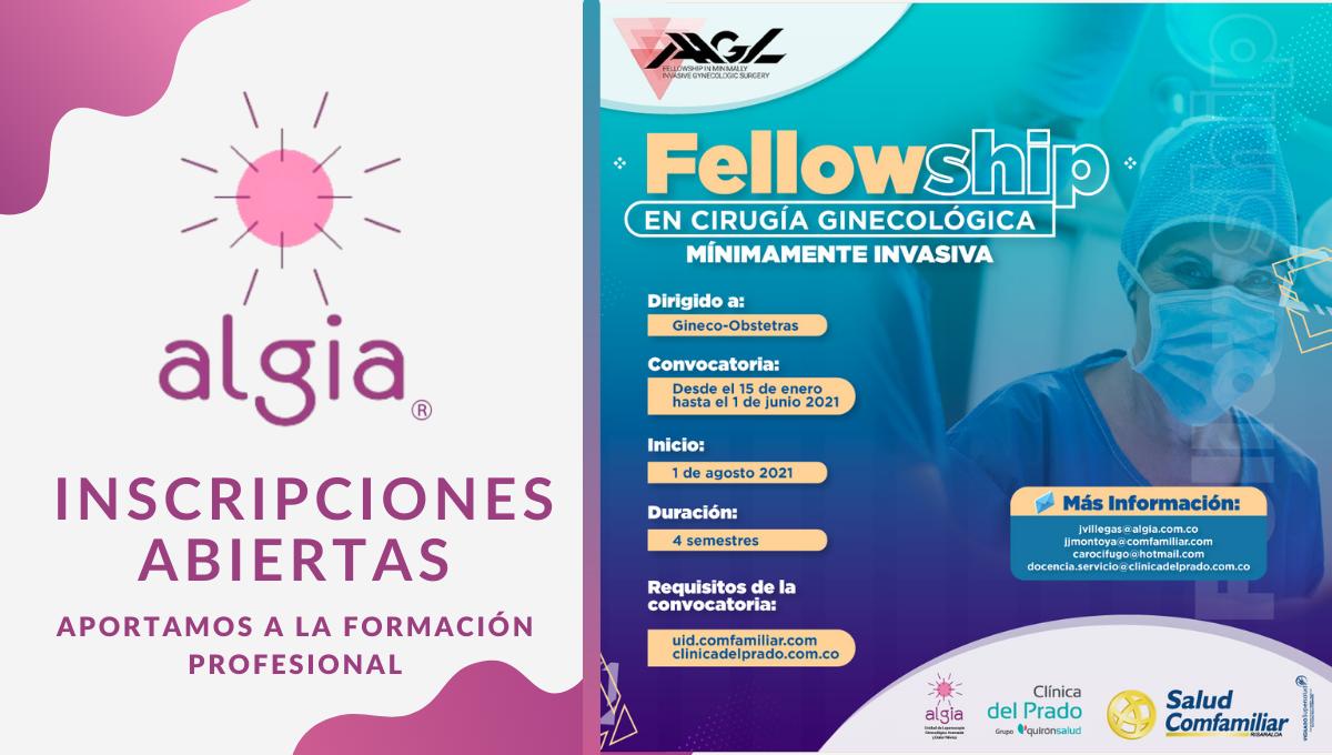 Abrimos inscripciones para el fellowship en cirugía ginecológica mínimamente invasiva con el aval de la AAGL